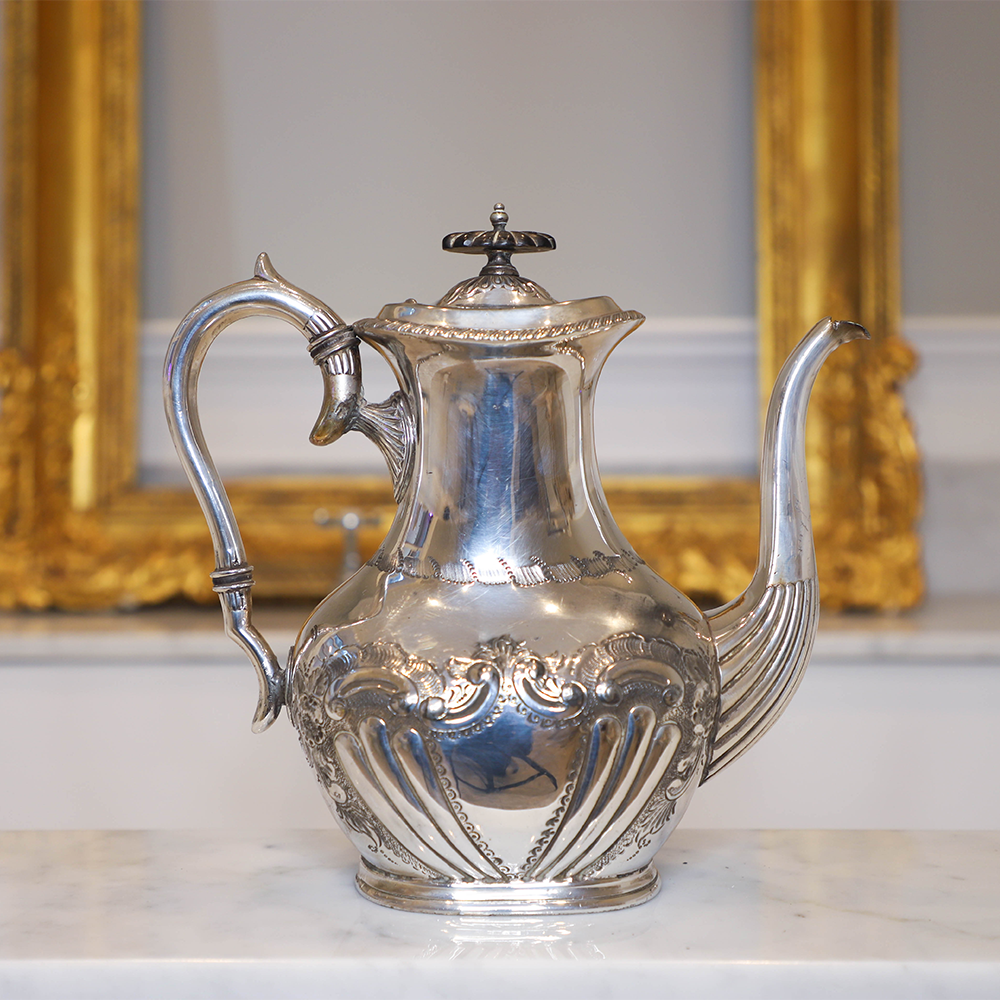 Silver Coffee Pot See More