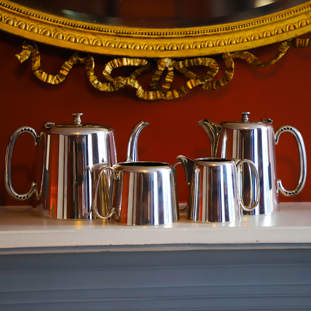 Silver Hotelware Set See More