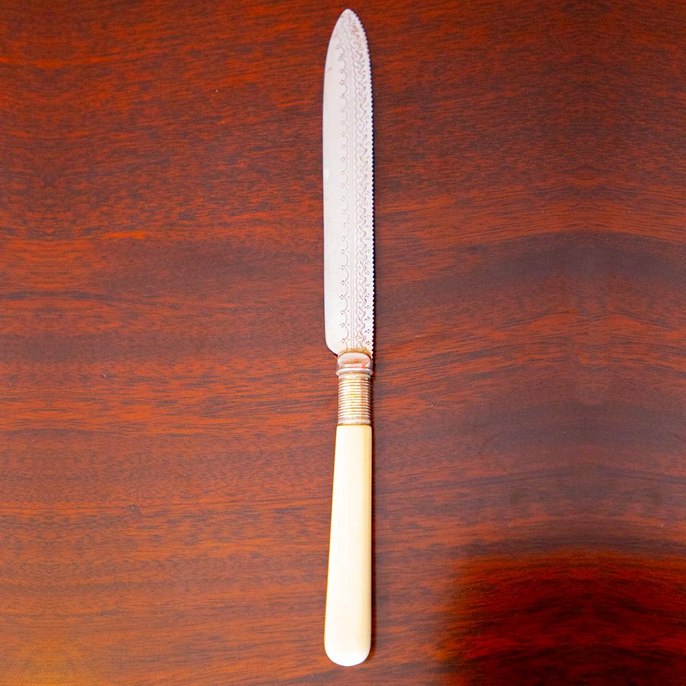 Ivory handled Cake Knife See More