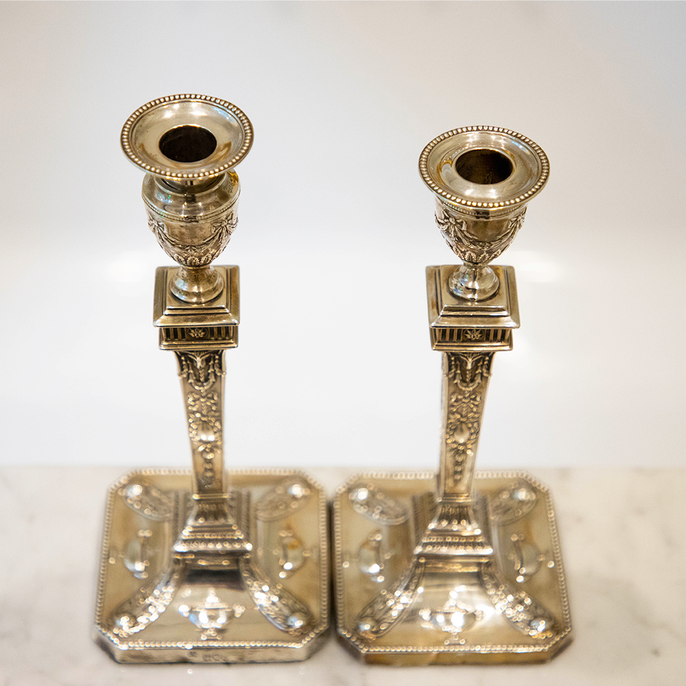 Silver Candlesticks See More